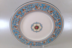 "Wedgwood - Florentine - Turquoise - Dinner Plate - 10 3/4"" - The China Village"