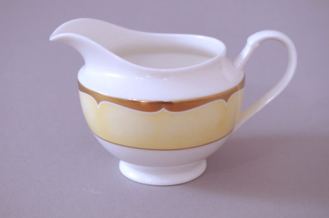 Marks & Spencer - Gold Arabesque - Milk Jug - 1/2pt - The China Village