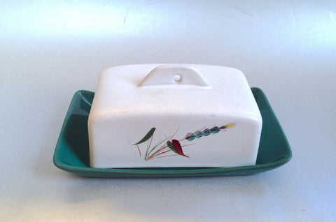 Denby - Greenwheat - Butter Dish & Lid - The China Village