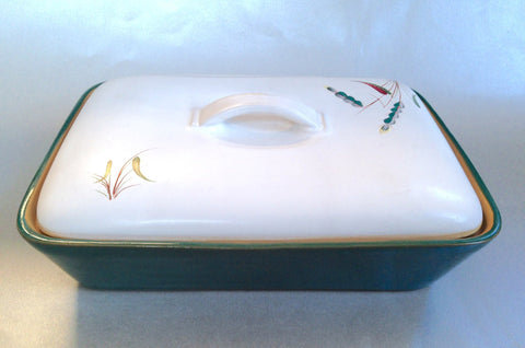 "Denby - Greenwheat - Vegetable Tureen - 11"" x 8 1/4"" - The China Village"