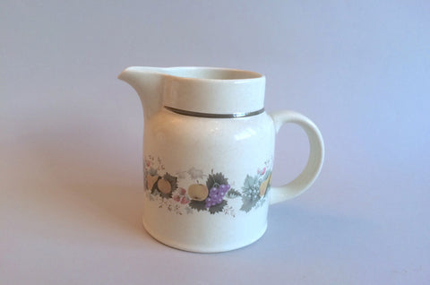 Royal Doulton - Harvest Garland - Thick Line - Milk Jug - 1/2pt - The China Village