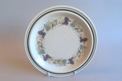 "Royal Doulton - Harvest Garland - Thick Line - Starter Plate - 8 5/8"" - The China Village"