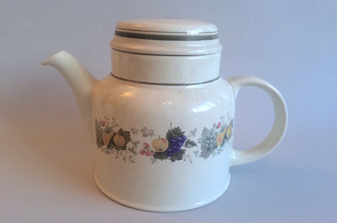 Royal Doulton - Harvest Garland - Thick Line - Teapot - 2pt - The China Village