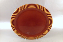 "Hornsea - Heirloom - Brown - Dinner Plate - 10 3/8"" - The China Village"