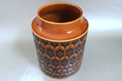 "Hornsea - Heirloom - Brown - Storage Jar (Flour) - Base Only - 7 5/8"" - The China Village"