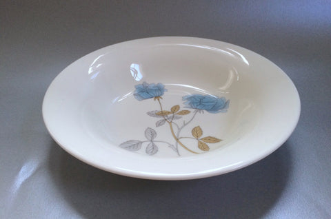 "Wedgwood - Ice Rose - Rimmed Bowl - 7 3/4"" - The China Village"