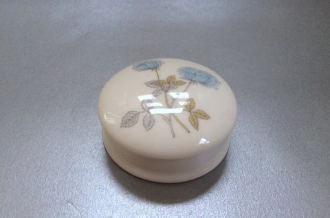 "Wedgwood - Ice Rose - Trinket Box - 2 1/4"" - The China Village"
