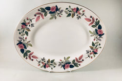 "Wedgwood - Hathaway Rose - Oval Platter - 14 1/4"" - The China Village"