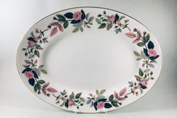 "Wedgwood - Hathaway Rose - Oval Platter - 15 1/2"" - The China Village"