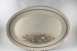 "Royal Doulton - Florinda - Oval Platter - 16 3/8"" - The China Village"