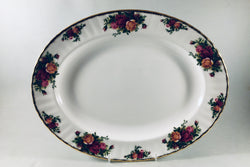 "Royal Albert - Old Country Roses - Oval Platter - 13 5/8"" - The China Village"