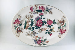 "Wedgwood - Charnwood - Oval Platter - 15 1/4"" - The China Village"