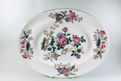"Wedgwood - Charnwood - Oval Platter - 13 3/4"" - The China Village"