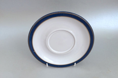 "Denby - Imperial Blue - Breakfast Cup Saucer - 6 3/4"" - The China Village"