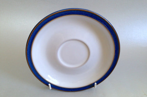"Denby - Imperial Blue - Tea Saucer - 6 1/8"" - The China Village"
