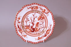 "Coalport - Indian Tree - Coral - Side Plate - 7 3/4"" - The China Village"