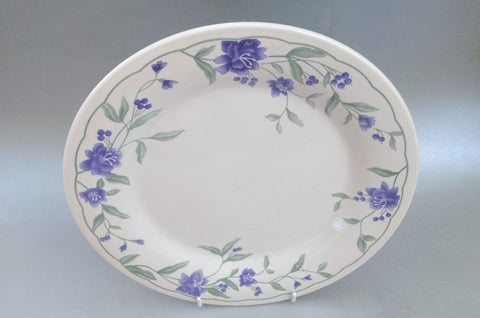 "BHS - Jasmine - Blue - Dinner Plate - 10 1/4"" - The China Village"