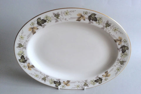 "Royal Doulton - Larchmont - Oval Platter - 13 1/8"" - The China Village"