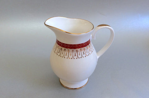 Royal Grafton - Majestic - Red - Milk Jug - 1/2pt - The China Village