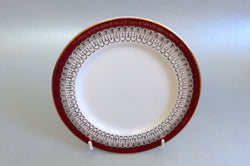 "Royal Grafton - Majestic - Red - Side Plate - 6 1/4"" - The China Village"