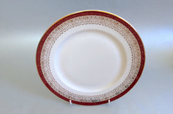 "Royal Grafton - Majestic - Red - Starter Plate - 8 1/4"" - The China Village"