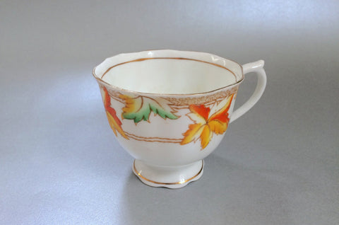 "Royal Albert - Maple Leaf - Teacup - 3 1/4 x 2 5/8"" - The China Village"