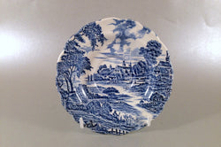 "Ridgway - Meadowsweet - Blue - Tea Saucer - 5 3/4"" - The China Village"