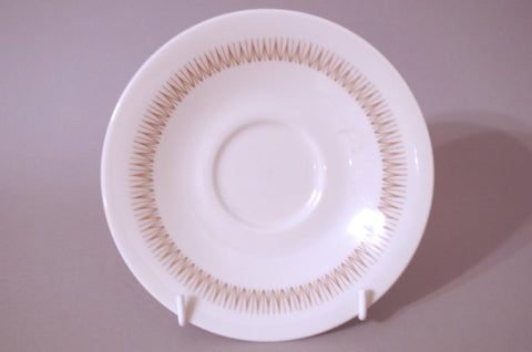 "Royal Doulton - Morning Star - Tea / Breakfast / Soup Cup Saucer - 6 1/4"" (Flatter Style) - The China Village"