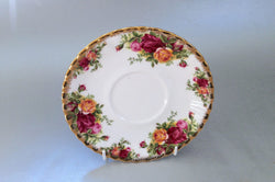 "Royal Albert - Old Country Roses - Soup Cup Saucer - 6 1/4"" - The China Village"
