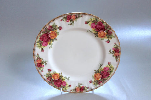 "Royal Albert - Old Country Roses - Starter Plate - 8 1/8"" - The China Village"