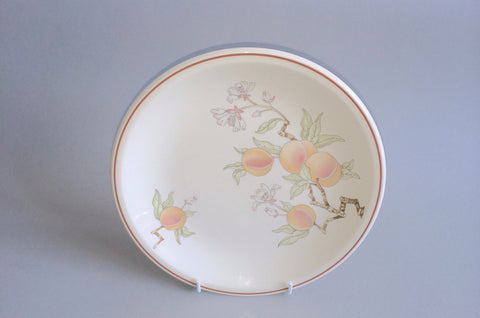 "Wedgwood - Peach - Sterling Shape - Starter Plate - 8 3/4"" - The China Village"