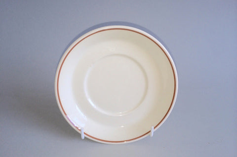 "Wedgwood - Peach - Sterling Shape - Tea Saucer - 5 5/8"" - The China Village"