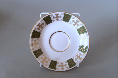 "Spode - Persia - Green - Coffee Saucer - 5 1/4"" - The China Village"
