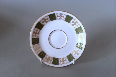 "Spode - Persia - Green - Tea Saucer - 5 3/4"" - The China Village"
