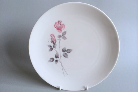 "Royal Doulton - Pillar Rose - Dinner Plate - 10 1/2"" - The China Village"