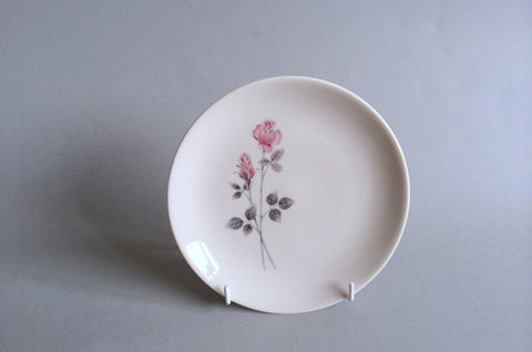 "Royal Doulton - Pillar Rose - Side Plate - 6 3/8"" - The China Village"