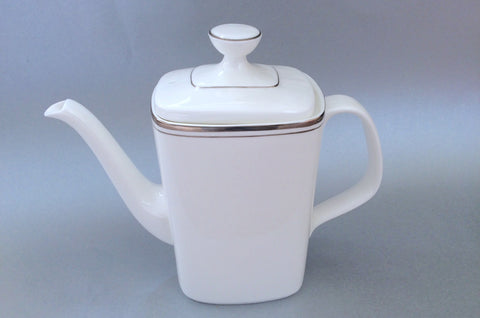 Royal Doulton - Platinum Concord - Coffee Pot - 2pt - The China Village