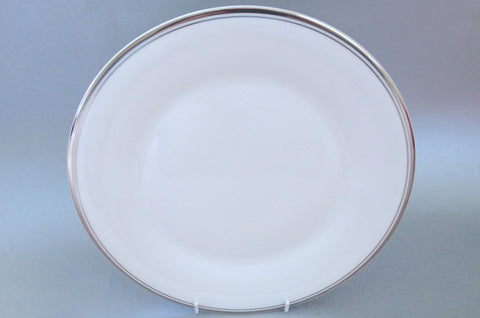 "Royal Doulton - Platinum Concord - Dinner Plate - 10 3/4"" - The China Village"