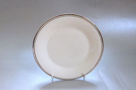 "Royal Doulton - Platinum Concord - Side Plate - 6 5/8"" - The China Village"