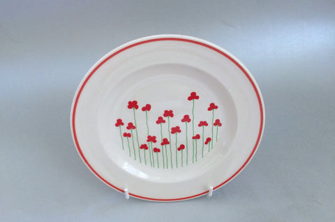 "Boots - Poppies - Side Plate - 6 3/4"" - The China Village"