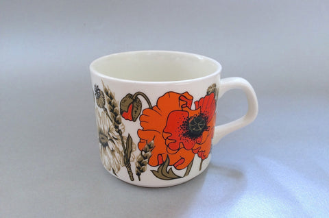 "Meakin - Poppy - Teacup - 3 1/8 x 2 5/8"" - The China Village"