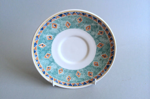 "Churchill - Ports of Call - Kabul - Breakfast Saucer - 6 1/4"" - The China Village"