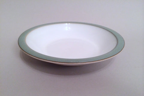 "Denby - Regency Green - Rimmed Bowl - 8 3/8"" - The China Village"
