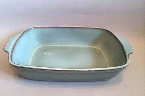 "Denby - Regency Green - Serving Dish - 14"" x 9"" - The China Village"