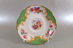 "Paragon - Rockingham - Green - Tea Saucer - 5 1/2"" - The China Village"