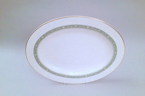 "Royal Doulton - Rondelay - Oval Platter - 13 5/8"" - The China Village"