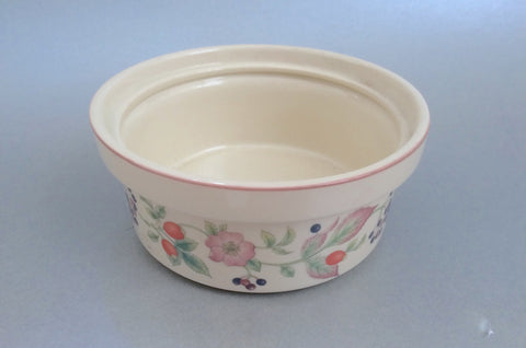 "Wedgwood - Roseberry - Jam Pot - 5"" (Base Only) - The China Village"