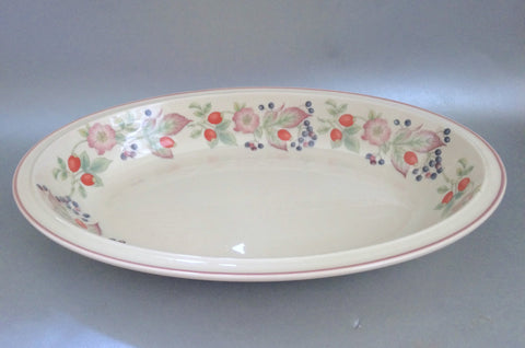 "Wedgwood - Roseberry - Serving Dish - 15"" - The China Village"