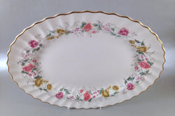 "Royal Doulton - Rosell - Oval Platter - 13 1/2"" - The China Village"
