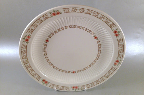 "Adams - Roseway - Dinner Plate - 10 1/8"" - The China Village"